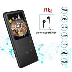 """16G Bluetooth 4.0 MP3 Player +Headset Touch 2.4"""" HD Screen F"""