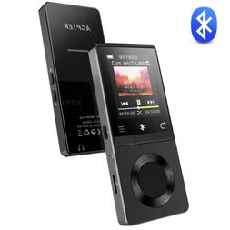 AGPTEK 16GB Bluetooth MP3 Player with Speaker Supports FM Ra