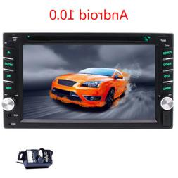 2DIN Android 10.0 HD Car Stereo DVD Radio Player GPS 4G WIFI