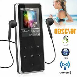 16/32GB Bluetooth MP3 Player MP4 Media FM Radio Recorder HIF