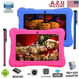 """7"""" 16GB Kids Tablet PC Android Wifi Quad Core HD Dual Camera"""