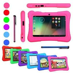 "7"" 16GB Kids Tablet PC Android Wifi Dual Camera Education Ga"