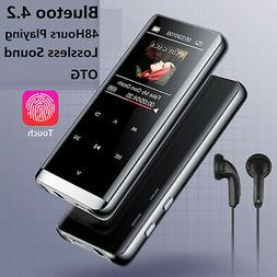 Bluetooth Touch Screen OLED MP3 Player Sport Lossless Sound