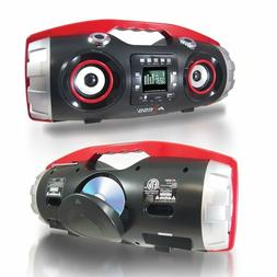 NEW Bluetooth Axess Portable FM CD MP3 USB/SD AUX-IN Player