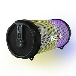 "Axess Disco LED HiFi 2.1 Bluetooth with 3"" Subwoofer Speaker"