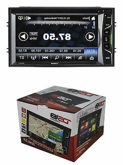 """DS18 Double Din 6.2"""" Linux Touch Screen Bluetooth DVD/MP3/CD"""