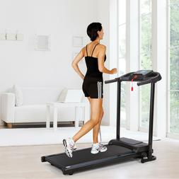 Folding Treadmill exercise equipment gym & home machines W/M