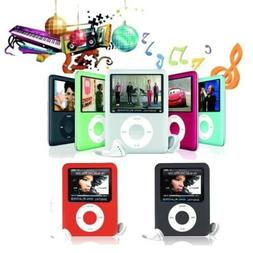 "iPod Style Up To 32GB 1.8"" LCD MP4 MP3 Music Video Media Pla"