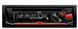 JVC KDR370 In-Dash 1-DIN Car Stereo Receiver CD MP3 Player A