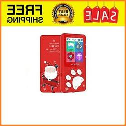 kids mp3 player with fm radio voice