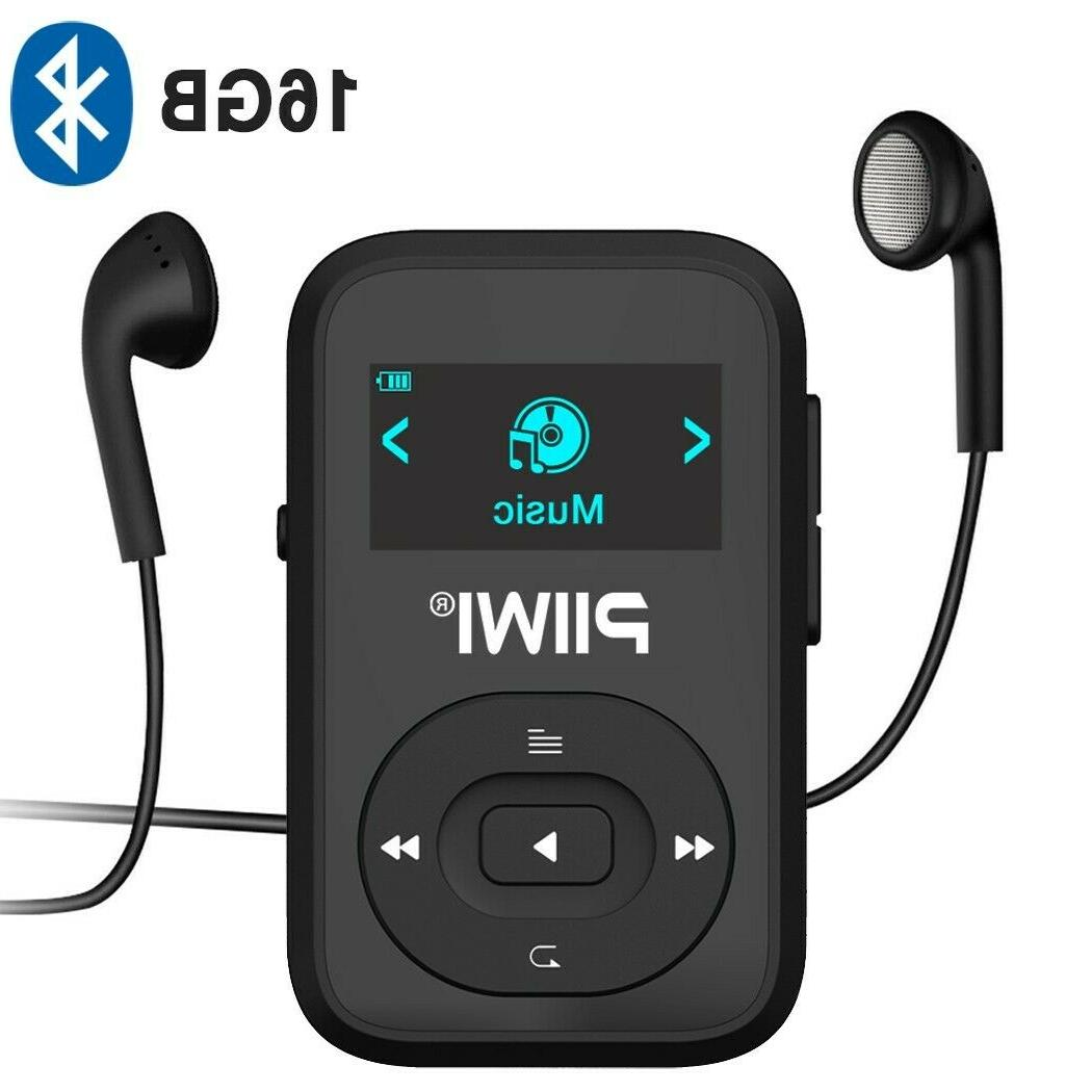 16gb bluetooth mp3 player with clip