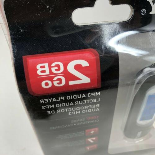 COBY 2 GB MP3 AUDIO UP TO SEALED BRAND