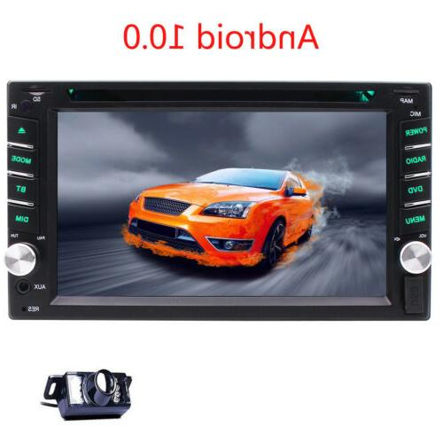 "Quad-Core 7"" Android Stereo GPS Radio DVD Player WIFI"
