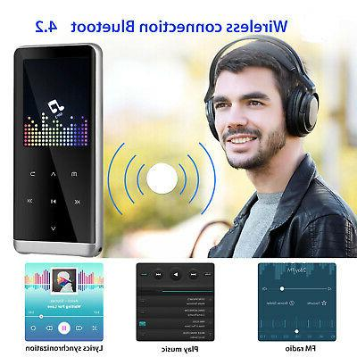 Bluetooth Touch MP3 Player Lossless Sound HIFI Music US