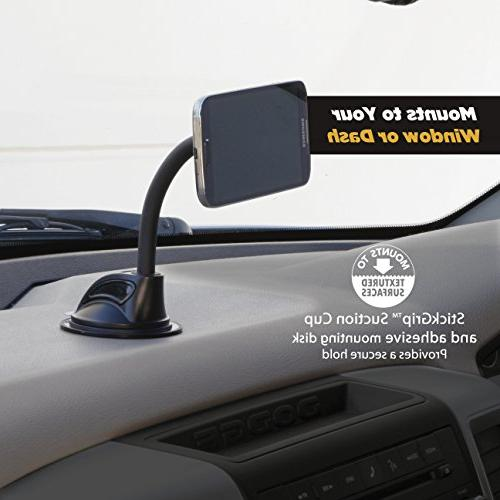 SCOSCHE Universal Magnetic Phone/GPS Mount the Car, Home or