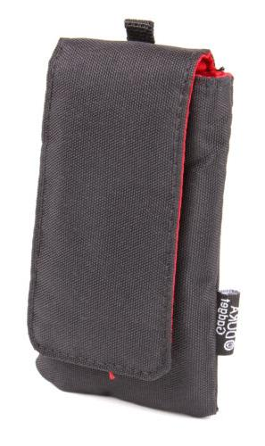 black music player case with belt loop