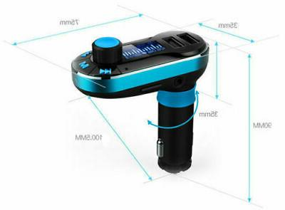 Bluetooth FM MP3 Player Radio Charger