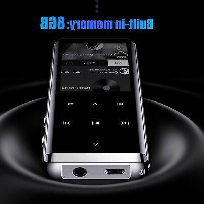 Bluetooth Touch Screen OLED MP3 Sound HIFI Music US