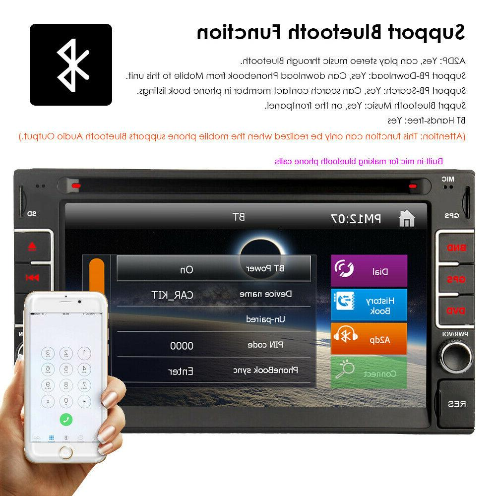 """GPS Navigation With Bluetooth 6.2"""" Player CD"""