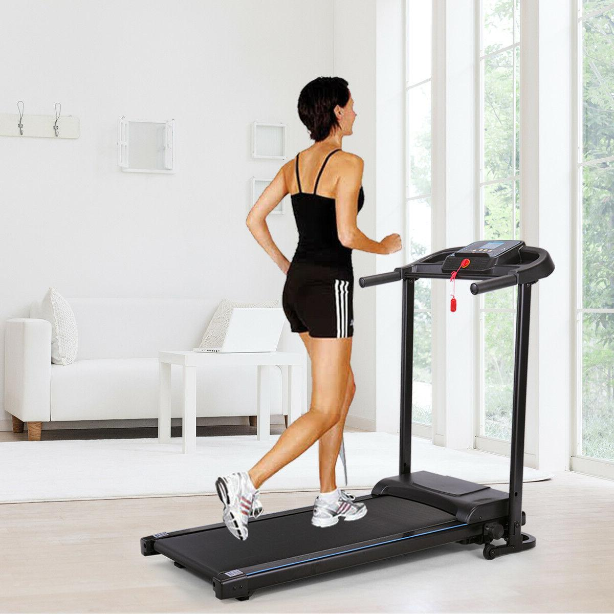 folding treadmill exercise equipment gym and home