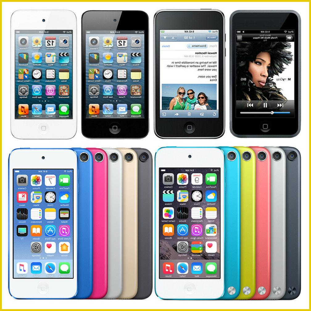 ipod touch 1st 2nd 3rd 4th 5th