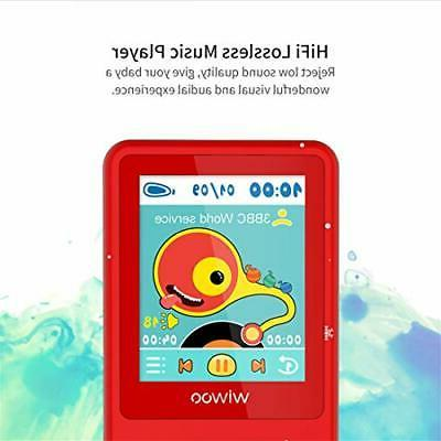 Kids Mp3 Player Fm Radio Voice Recorder, 8Gb Lossless Player,