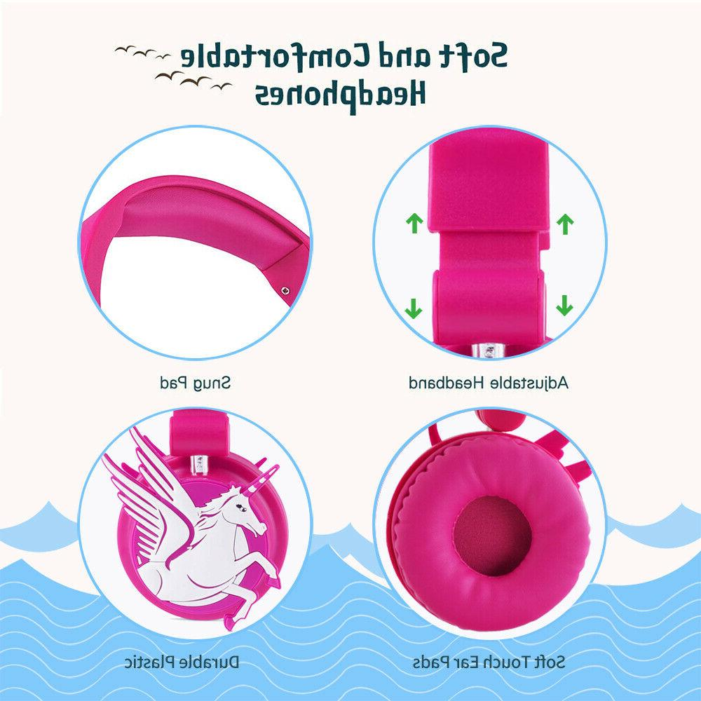 Kids Wired Headsets MP3