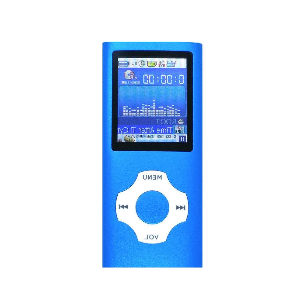 MP3 Music LCD Screen Support 64GB Micro SD