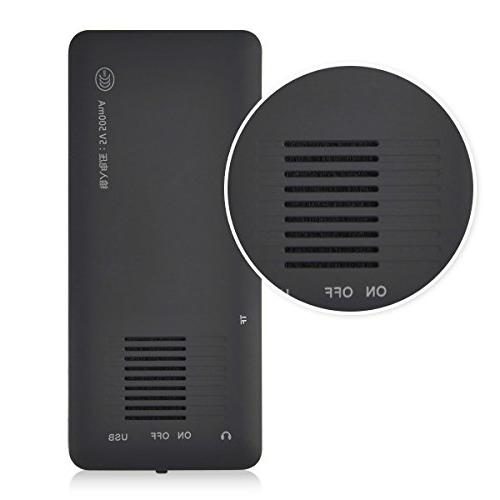 MYMAHDI 16GB MP3 Player 70h Lossless Sound, up to 128GB Card