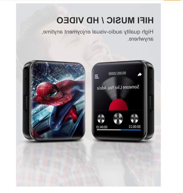 MP3 Player 32GB Screen Voice Video Player