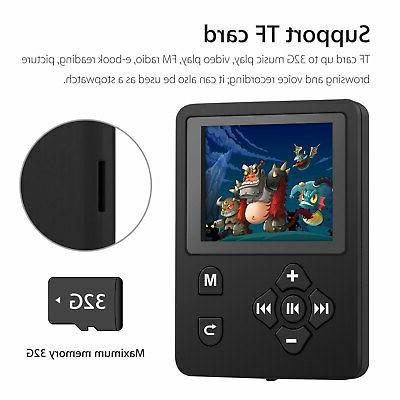 Portable MP3 MP4 Player Hi-Fi Lossless Sound w/ Earphone