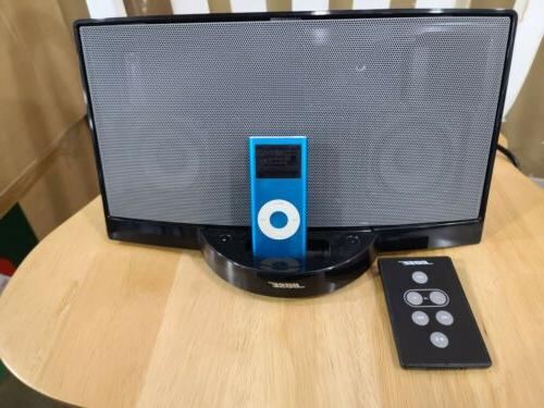 sounddock with apple ipod a1199 4gb 752