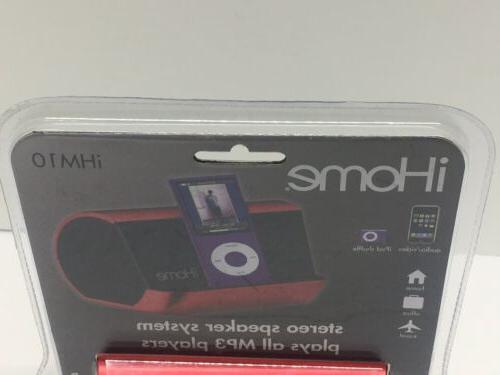 iHome Stereo plays all MP3 Players #
