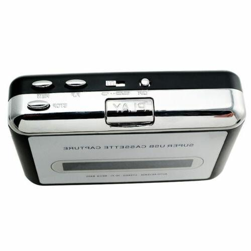 USB Tape to MP3 PC Converter Capture Stereo Music
