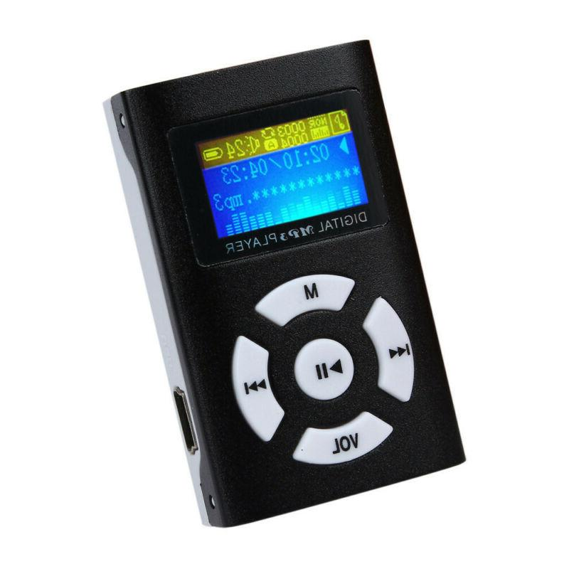 USB LCD Support 32GB Micro SD MP3