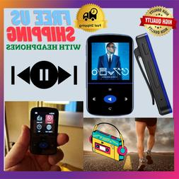 Mini Portable MP3 Player 32GB With Pedometer And 2 Inch Long