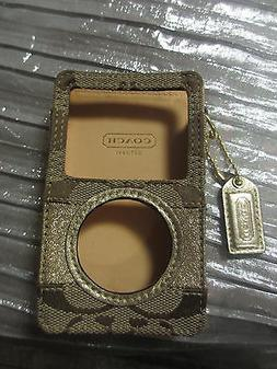 COACH MP 3 PLAYER CASE HOLDER...NEW!!!!!!