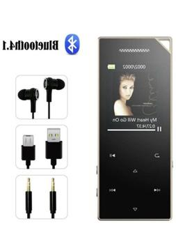 FenQan MP3 Player  with Bluetooth 4.2, 8GB HiFi Lossless, 62