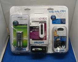 Philips 2GB MP3 Player Gift Set