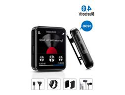 MP3 Player with Bluetooth 32GB FM Radio Touch Screen Voice R