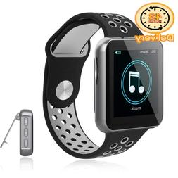 Mp3 Player With Bluetooth For Running, 16Gb Clip Music Playe
