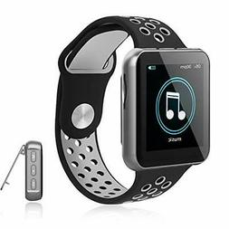 MP3 Player with Bluetooth for Running,16GB Clip Music Player
