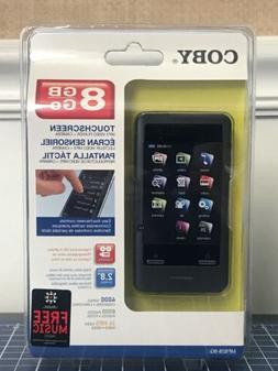 """Coby MP828-8G Touchscreen 8GB MP3 video Player + camera 2.8"""""""