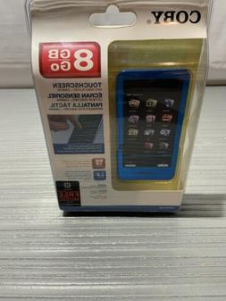 mp828 blue 8 gb digital media player