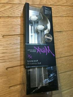 ALTEC LANSING MZX116W MuzX Noise Isolating Earphones iPod iP