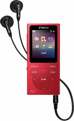 nw e394 walkman mp3 player with fm