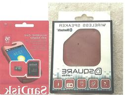 One  Wireless Bluetooth mp3 player/ with sandisk 16gb micro