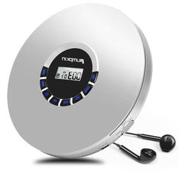 Rechargeable Portable CD Player Anti-Skip LED Display MP3/CD